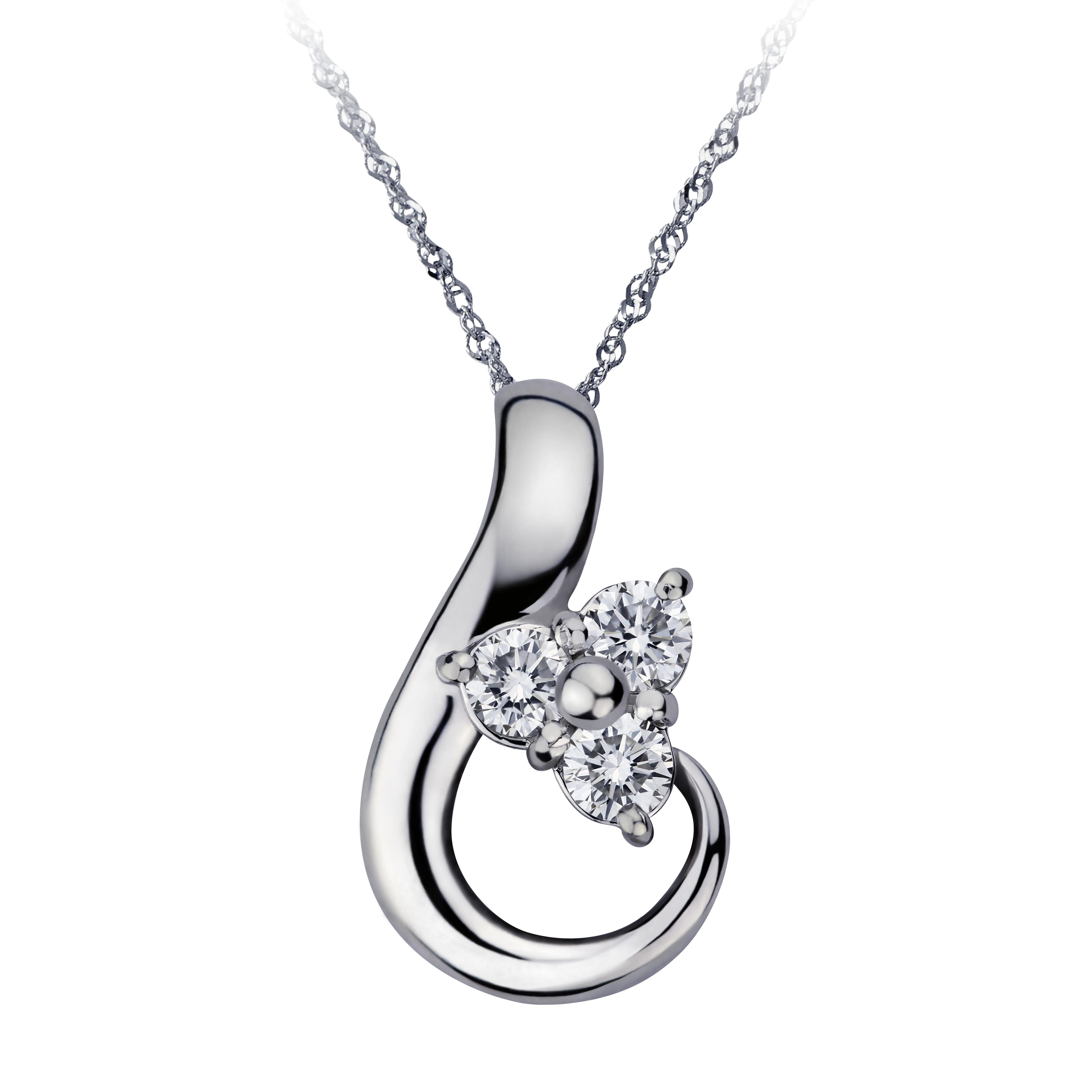 20分鑽石項鍊