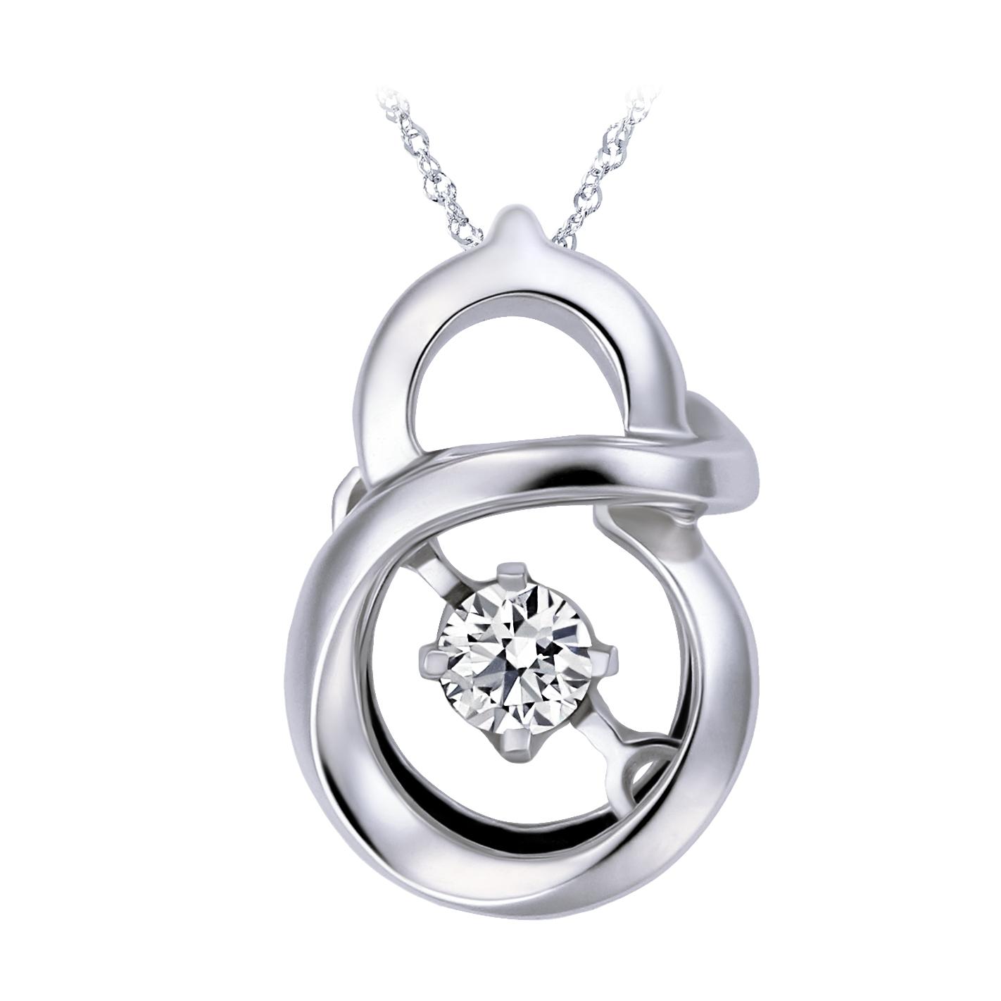 9分鑽石項鍊