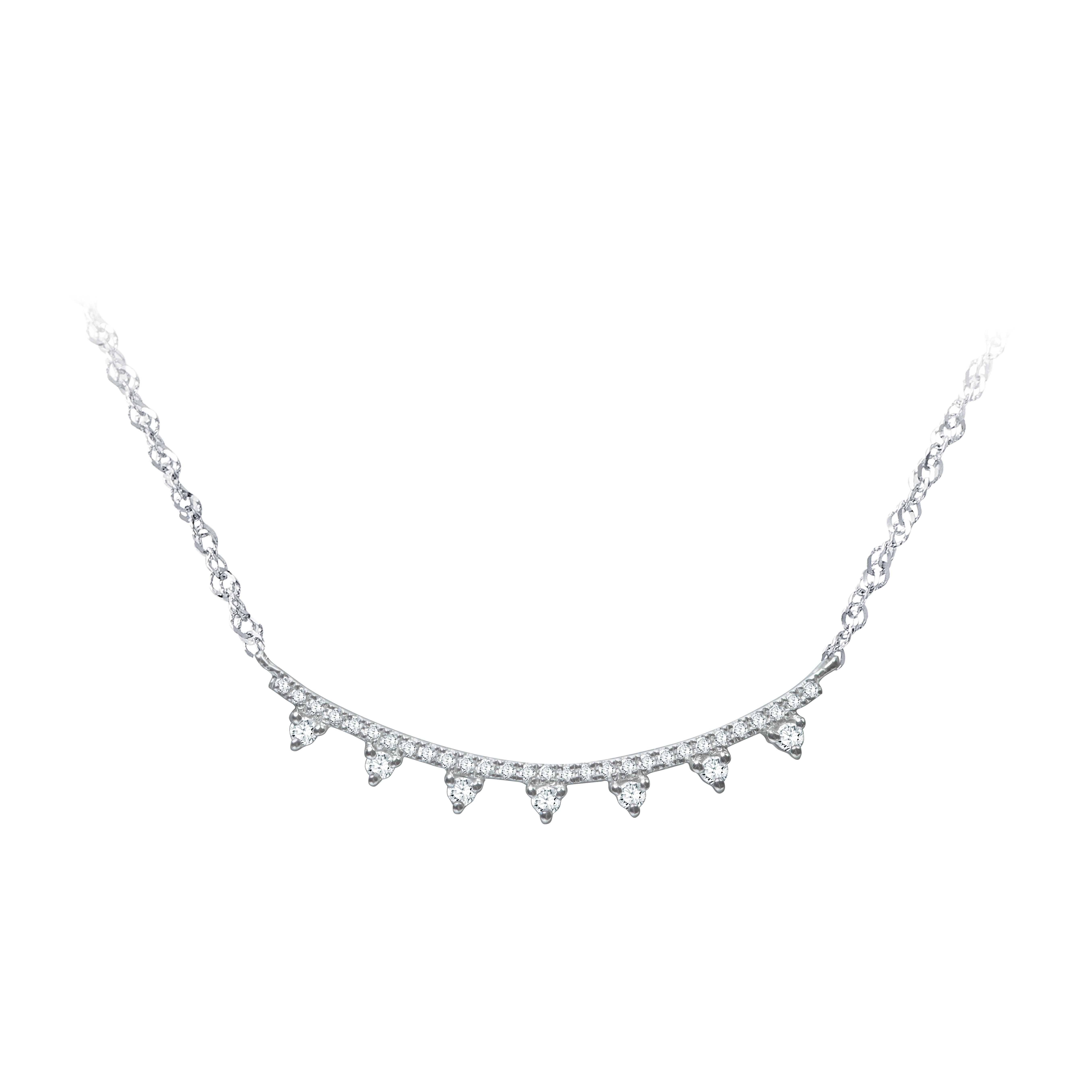 微笑鑽石項鍊