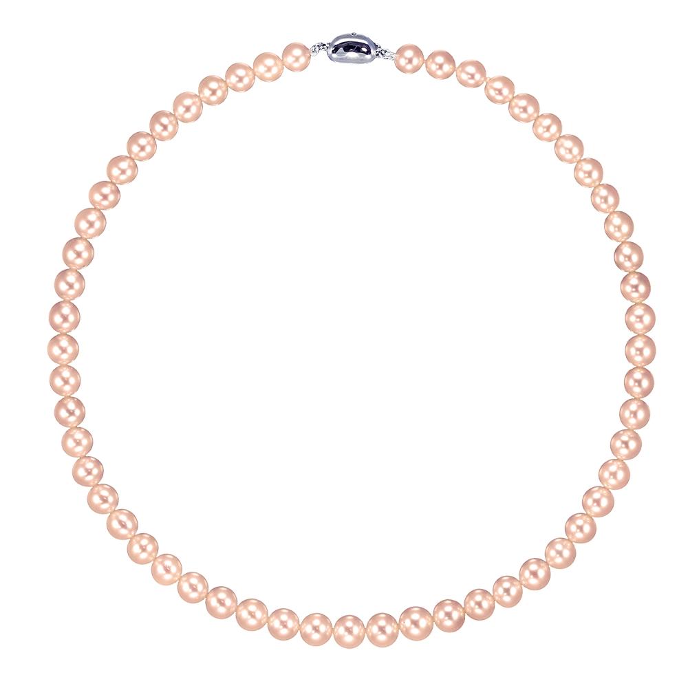 8.5mm彩珠珍珠項鍊